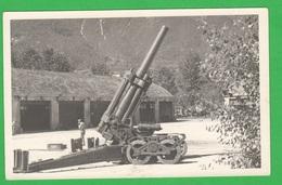 Obice ANSALDO 210/22 Artiglieria Regio Esercito Cannoni Cannone Zona Trentino ?? - Guerre, Militaire