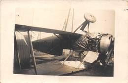 CARTE-PHOTO-AVION- ACCIDENT D'AVION - Avions