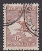 Australia SG 107  1929 Kangaroo,6d Chestnut, Used - Used Stamps