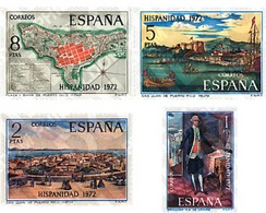 Ref. 84851 * MNH * - SPAIN. 1972. SPANISHNESS. PUERTO RICO . HISPANIDAD. PUERTO RICO - Geography