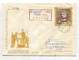 Polen / 1990 / Ganzsachenumschlag Mit Zusaetzlich Gebuehr Bezahlt-o (Inflation) O SZEBNIE (11365) - 1944-.... Republik