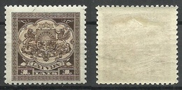 LETTLAND Latvia 1923 Michel 98 * - Lettonie
