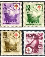 Ref. 130796 * MNH * - SPAIN. 1949. ANTI-TUBERCULOSIS . ANTITUBERCULOSIS - Music