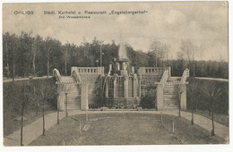 "Ohligs Solingen Stadt Kurhotel U. Restaurant "" Engelsbergerhof"" Britrish Occupation Field Post Office 1919 Censor - Solingen"