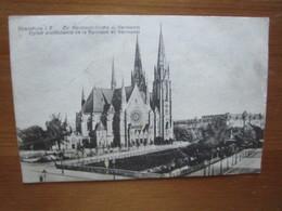 Strassburg. Strasbourg. Eglise Protestante De La Garnison Et Germania. Hartmann 353 - Strasbourg