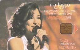 Malta, 233, Ira Losco Eurovision 2nd Place, 2 Scans. - Malta