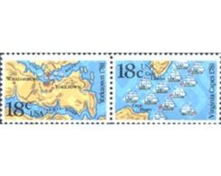Ref. 244388 * MNH * - UNITED STATES. 1981. YORKTOWN AND VIRGINA BATTLES 200th ANNIVERSARY . 200 ANIVERSARIO DE LA BATALL - Ships