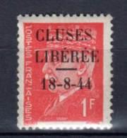 TIMBRES De LIBERATION - CLUSES - N° 2 * - Liberation