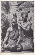 ZULU HAIRDRESSERS. PUBLISH CONTINENTAL FILM & PHOTO STUDIO. CIRCULEE SOUTH AFRICA TO URUGUAY- BLEUP - Afrika