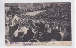 SERIE TURQUIE LIRE. CEREMONIE DE SELAMLIK 18 JUILLET 1908. ED R D ARAKELIAN CO. VOYAGE- BLEUP - Turkije