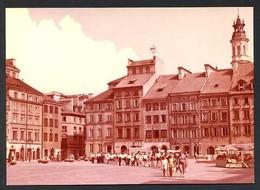 Polonia. Warszawa *Old Town Market Square* Edit. K.A.W. Nueva. - Polonia