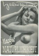 Nackte Natürlichkeit 1950 - Walter Thiele - 24 Seiten Mit 22 Abbildungen - Revues & Journaux