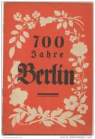 700 Jahre Berlin - Werbeheft Für Den Berliner-Lokalanzeiger - 28 Seiten Mit Vielen Abbildungen - Berlin