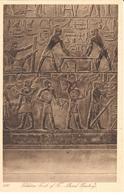 POSTAL  SAKKARA -MENFIS  -EGIPTO  -TOMB OF TI-MURAL PAINTINGA  (TUMBA DE TI-PINTURAS MURALES) - Egipto