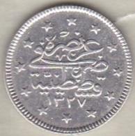 Turquie , 2 Kurush AH 1327 Year 3 Muhammad V, En Argent ,KM# 749 - Türkei