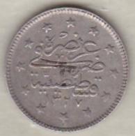 Turquie , 2 Kurush AH 1327 Year 6  Muhammad V, En Argent ,KM# 749 - Türkei