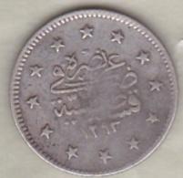 Turquie , 2 Kurush AH 1293 Year 11 Abdul Hamid II, En Argent ,KM# 736 - Turquie