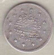 Turquie , 1 Kurush AH 1293 Year 17 Abdul Hamid II, En Argent ,KM# 735 - Turquie