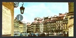 Polonia. Warszawa *Rynek Starego Miasta* Edit. Ruch. Meds: 70 X 147 Mms. Nueva. - Polonia