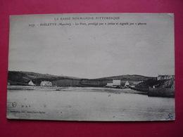 2177.  DIELETTE  (Manche)  -  Le Port, Protégé Par 2 Jetées Et Signalé Par 2 Phares - Frankreich