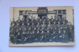 38470  -   Cantine  Fort  Evegnée -   Militaires  -  Carte  Photo - Blegny