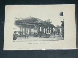 MAS D AGENAIS   / ARDT  Marmande    1910 /    VUE HALLES  .....  EDITEUR - France