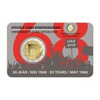 BELGIQUE - 2 Euro 2018 - Evénements De Mai 1968 - Disponibles!! - Belgique