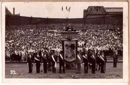LATVIA. LETTLAND. DZIESMU SVETKI. RIGA. TRIBINE PREZIDENTS KVIESIS. 1933. Photo Postcard - Latvia