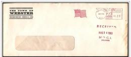 Stati Uniti/États-Unis/United States: Ema, Meter, Bandiera, Flag, Drapeax - Buste