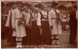 LATVIA. LETTLAND. VII VISPAREJIE DZIESMU SVETKI. RIGA. 1931. Photo Postcard - Latvia