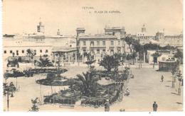 POSTAL    TETUAN  -MARRUECOS  - PLAZA DE ESPAÑA - Marrakech