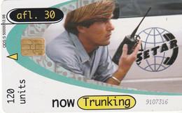 TARJETA TELEFONICA DE ARUBA. SETAR-111A, NOW TRUNKING 12.98 (033) - Aruba
