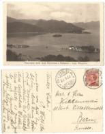 Michetti C60 Isolato Estero Cartolina Stresa Panorama 27set1923 X Berna Svizzera - Italia