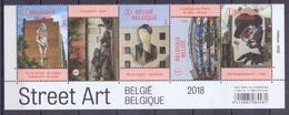 Belgie - 2018 - OBP -  ** Street Art - Indianen ( 2018 )** MNH - 1/2 Vel - Belgique