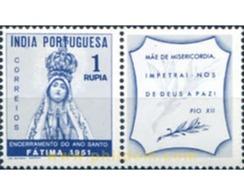 Ref. 326081 * MNH * - PORTUGUESE INDIA. 1951. HOLY YEAR . AÑO SANTO - India Portuguesa