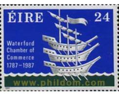 Ref. 164869 * MNH * - IRELAND. 1987. BICENTENARIO DE LA CAMARA DE COMERCIO DE WATERFORD - Ships