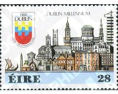 Ref. 147205 * MNH * - IRELAND. 1988. DUBLIN MILLENARY . MILENARIO DE DUBLIN - Architecture