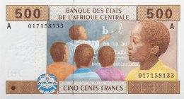 Central African States 500 Francs, P-406A (2002) UNC - GABON ISSUE - Central African States