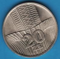 POLAND 20 ZLOTYCH 1973KM# 67 POLSKA·RZECZPOSPOLITA·LUDOWA - Poland