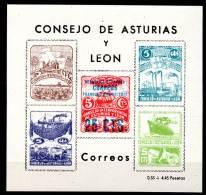 ASTURIAS Y LEON - BLOC N°18 - Asturien & Léon