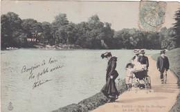 F75-182 PARIS - Bois De Boulogne - Le Lac - Parken, Tuinen