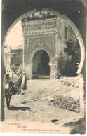 POSTAL    TETUAN  -MARRUECOS  - MEZQUITA DE LA PUERTA DE CEUTA  -FOTO J. BERINGOLA - Marruecos