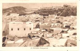 POSTAL    TETUAN  -MARRUECOS  - VISTA PARCIAL - Marruecos