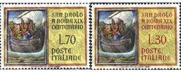 Ref. 130553 * MNH * - ITALY. 1961. 19th CENTENARY OF ST. PAUL'S ARRIVAL TO ROME . 19 CENTENARIO DE LA LLEGADA DE SAN PAB - Ships