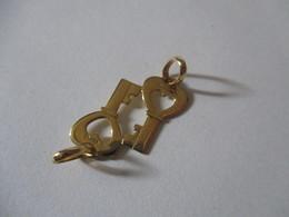Ciondolo Separabile In Oro Chiavi - Pendants