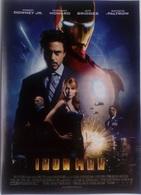 Folleto De Mano. Película Iron Man. Robert Downey Jr. Jeff Bridges. Gwyneth Paltrow - Merchandising