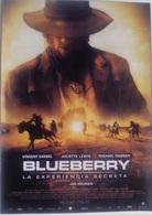 Folleto De Mano. Película Blueberry La Experiencia Secreta. Vincent Cassel. Juliette Lewis. Ernest Borgnine - Merchandising