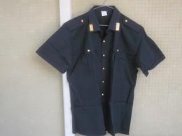 """Camicia Originale Polizia Estiva """"Atlantica"""" Del 2002 Tg. 44 Nuova Etichettata P.S. - Polizia"""