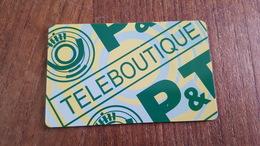 Télécarte Luxembourg TP 07 TÉLÉBOUTIQUE - Lussemburgo