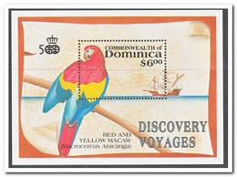 Dominica 1991, Postfris MNH, Birds - Dominica (1978-...)